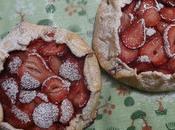 Tarte Rustique Fraises Rustic Strawberry Tart Tarta Rustica Fresas تارت التوت