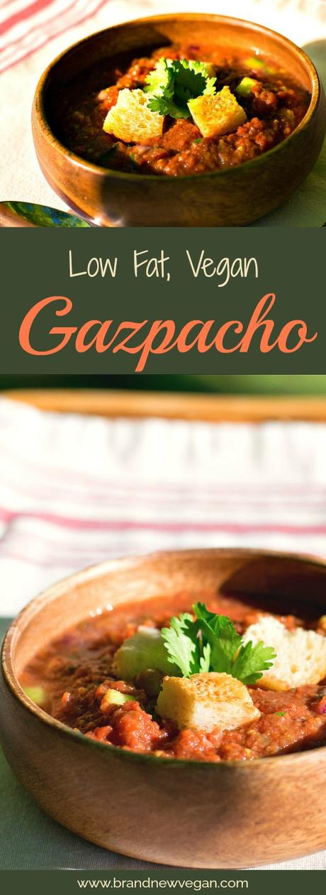 low fat vegan gazpacho pin