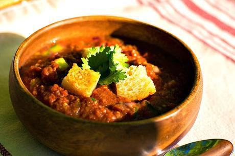 low fat vegan gazpacho