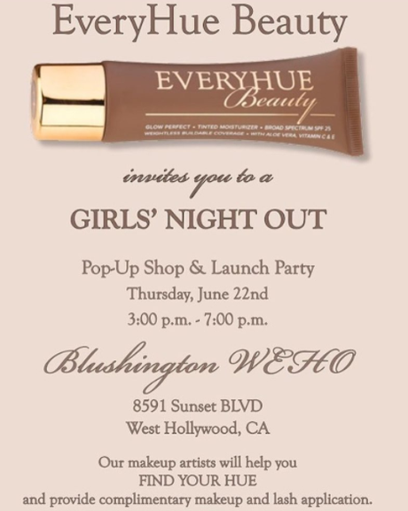 "Pics: Gizelle Bryant & Erika Liles ""EveryHue Beauty"" Pop Up Shop In L.A. Was Poppin'"