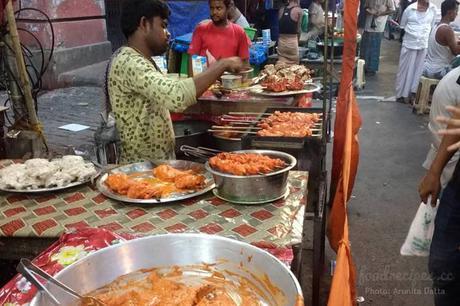 Iftar during Ramadan on Zakariah Street