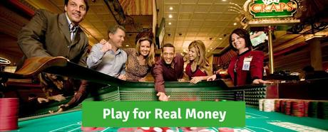 Play for real money