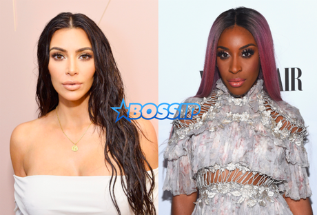 Not Nice: Kim Kardashian Shades Black Beauty Blogger For Honest Review On KKW Beauty Line?