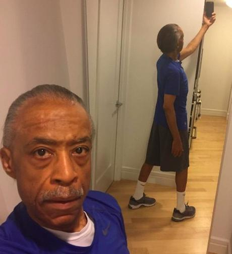 Al Sharpton Doesn't Care What You Think About His New Body