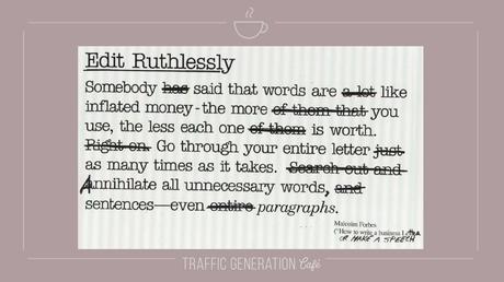 content repurposing: how to edit outline
