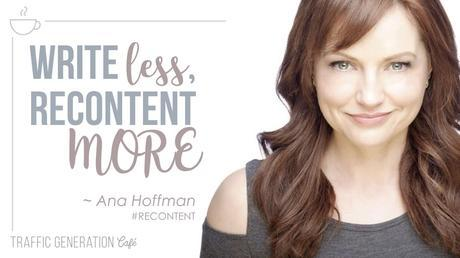repurpose content more, write less