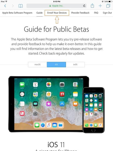 How to download and install iOS 11 Public Beta 1 the Tokitechie way?