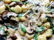 Creamy Spinach Mushroom Gnocchi