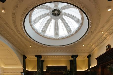 ceiling in town hall