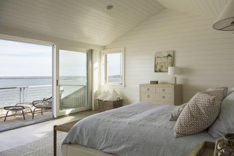 Serene Bedroom WIth Ocean View In Maine