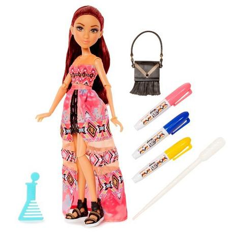 Project Mc2 dolls with experiments: Camryns tie dye