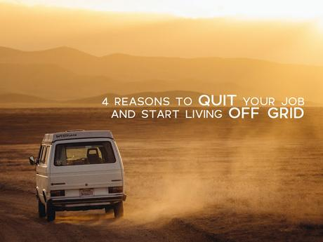 4 Reasons To Quit Your Job And Start Living Off Grid
