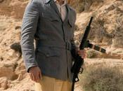 Brad Pitt's Blue Linen Safari Jacket Allied