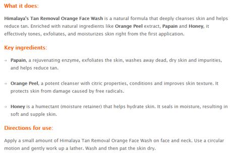 Himalaya Herbals Tan Removal Orange Face Wash, Scrub, and Peel-off Mask | Review