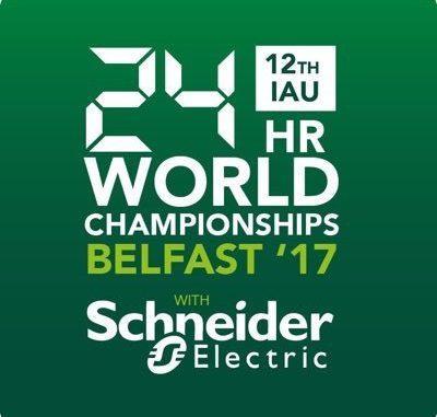 IAU 24 Hour World & European Championships 2017 Belfast – Updates – 22:45 Hours