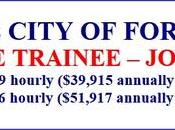 FIREFIGHTER TRAINEE City Fort Worth (TX)