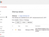 Your Sitemap Appears HTML Page [Solved]