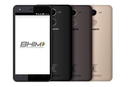 Karbonn K9 Kavach 4G integrated with BHIM @KarbonnSmart