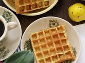 Easy Crispy Light Pandan Waffles Made with Real Juice