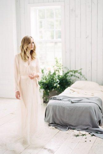 bridal robes long pink soft silk joshdeaton via instagram