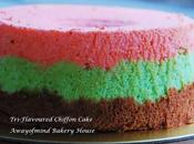 Tri-Flavoured Chiffon Cake 三味气风蛋糕