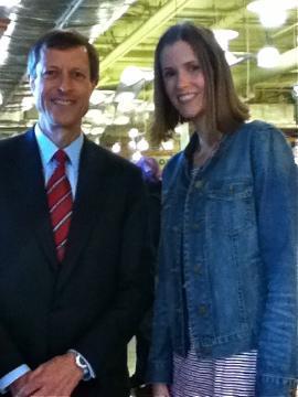 Meeting Dr. Neal Barnard!