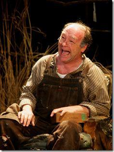 Brad Armacost as patriarch Phil Hogan in Seanachaí Theatre Company's production of A MOON FOR THE MISBEGOTTEN by Eugene O'Neill, directed by Kevin Theis at The Irish American Heritage Center.