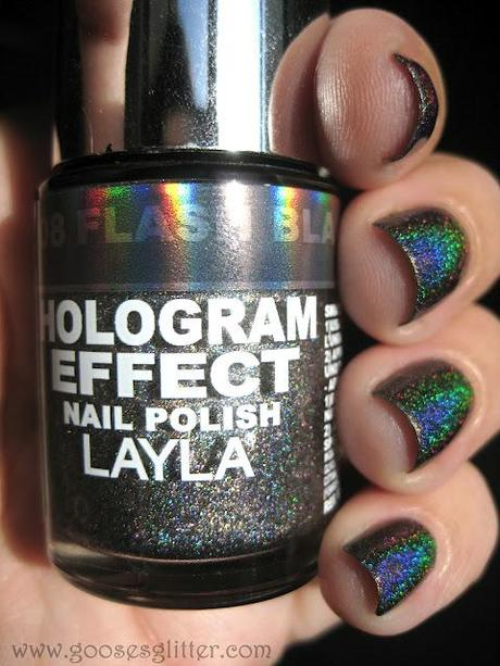 Layla - Flash Black: Swatches and Review