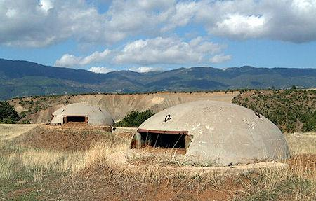 The Concrete Bunkers Of Albania