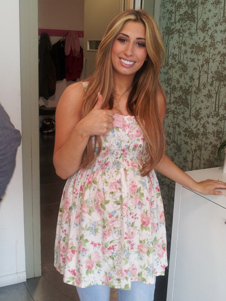 Celeb Sunday - Stacey Solomon!