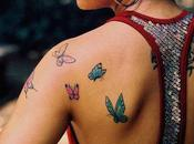 Popular Girly Butterfly Tattoos
