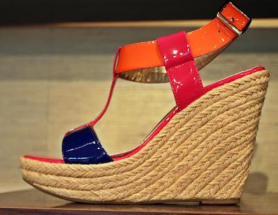 Shoe of the Day | Isola Olencia Patent Jute Wedge
