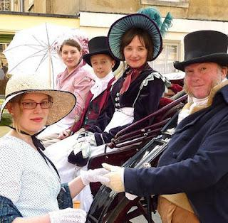 JACKIE HERRING & THE JANE AUSTEN FESTIVAL IN BATH - INTERVIEW