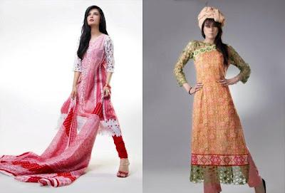 Eiza Lawn Collection For Summer 2012 By UA Textiles