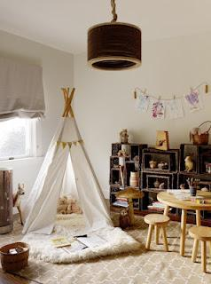 Tepees in Kids' Rooms