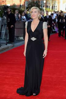 Kate Winslet wears Jenny Packham to Titanic 3D Premiere