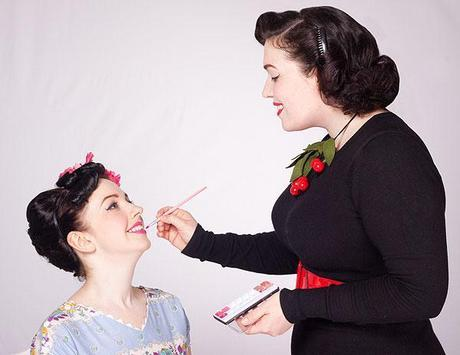 Vintage hair and make up by Bethany Jane Davies (1)