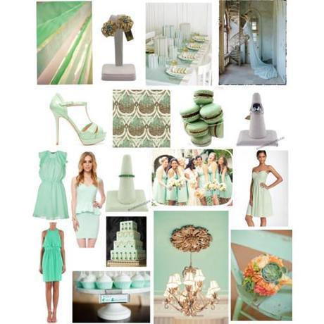 Wedding Wednesday: Mintspiration