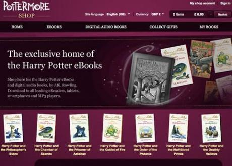 Pottermore starts to sell e-books; is it the end of Amazon?
