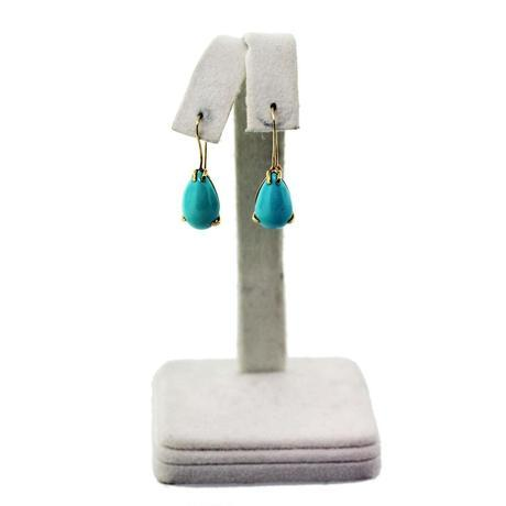 Turquoise Earrings, turquoise, earrings, Boca Raton, Boca turquoise, turquoise jewelry, wedding jewelry, Raymond Lee Jewelers, jewelry for brunettes