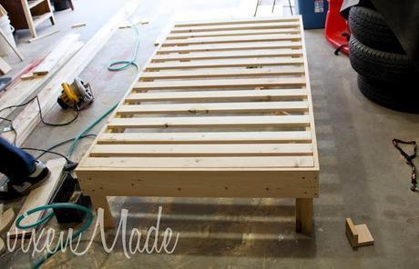 Padded Headboard & Bed