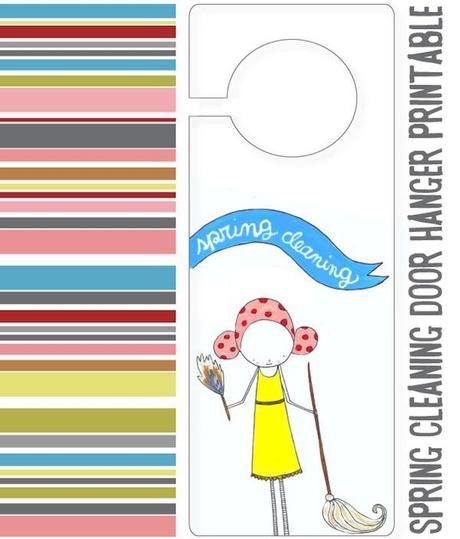 mayi carles, spring cleaning printable, creative organization, free printable