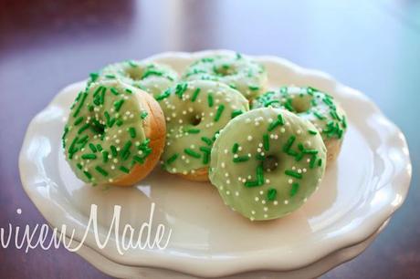 St. Patrick's Day Mini Donuts