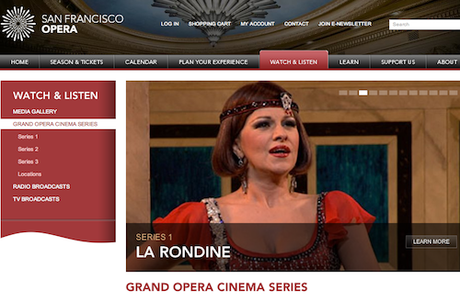 Grand Opera Cinema series @San Francisco Opera