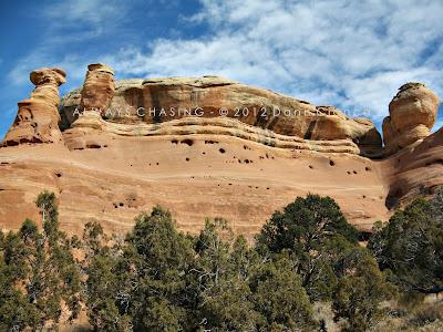 2012 - March 6th - West Fork Pollock Canyon, McInnis Canyons National Conservation Area / Black Ridge Canyons Wilderness