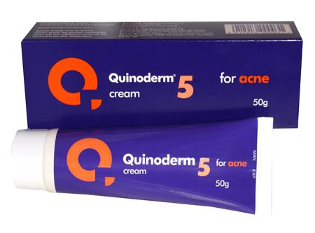 Review of Quinoderm 5 Acne Treatment