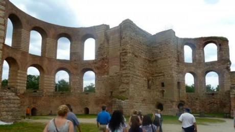trier germany roman imperial baths, unesco site
