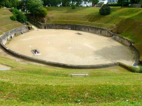 trier germany amphitheater unesco site