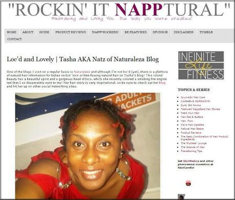 Rockin' it Loc'd and Lovely over on Rockin' It Napptural