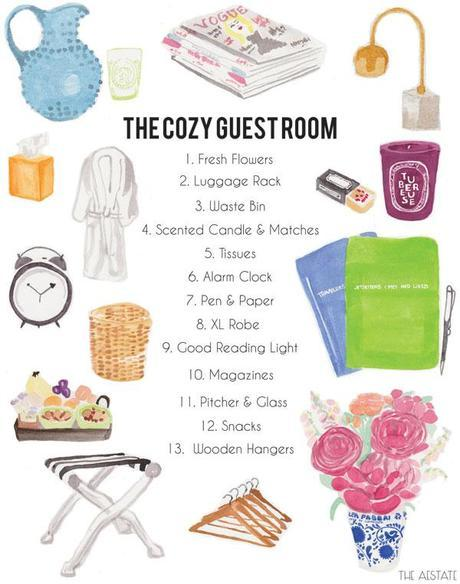 [Guest Post] The Aestate // The Cozy Guest Room